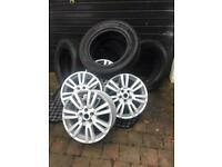 Land Rover Discovery, Alloy rims and tyres