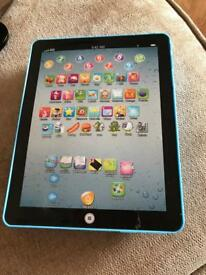 Childs learning tablet