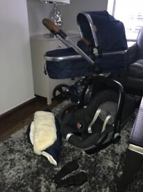 Mothercare Limited Edition Navy Orb Pushchair