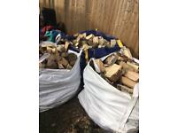 Logs 1 tone bags delivered smaller bags also available