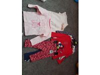 Baby girl clothes size 9-12 months