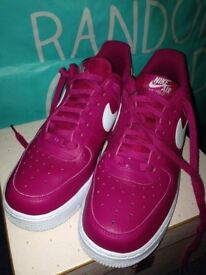 Nike Air Force pink size 6 trainers