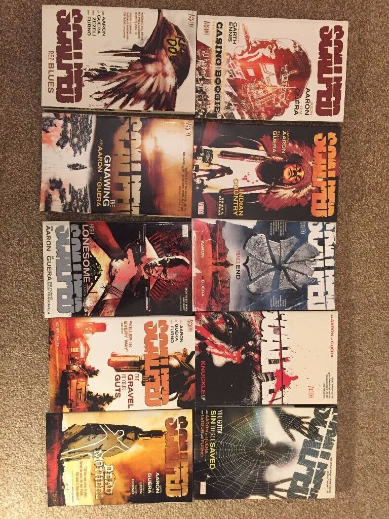 Various graphic novels
