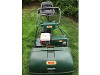 "WEBB 30"" PRO CYLINDER MOWER WITH 30"" AUTOSTEER SEAT"