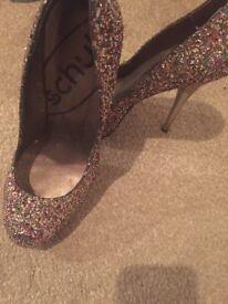 Schuh glitter shoes