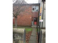 One Bed unfurnished top flat to rent -in block of 4 with communal entrance - road/rail links nearby