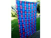 Beautiful Very Large 100% Silk Wrap Lovely & soft to the skin in Excellent Condition