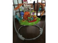 Fisher Price Rainforest Jumperoo, excellent condition and fully working