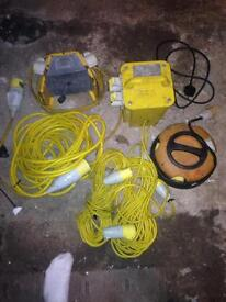 Transformer and leads