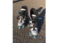 Quad roller skates size 3