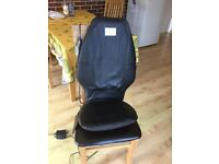 Homedics massage chair. A few years old but fully functioning to give a firm back/ neck massage .