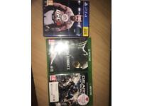 Xbox, PS4 games