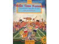 3 Fiddle time violin books