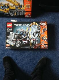 Lego truck set unopened