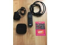 Now TV box with entertainment pass