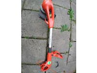 Used broken and repairable Flymo Contour 600hd Electric Grass Trimmer