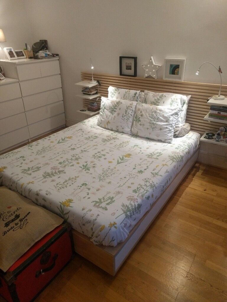Ikea Mandal Bed Frame With Storage In Hammersmith London
