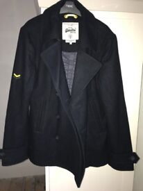 Superdry Vintage Mens Peacoat - Navy - Size Large