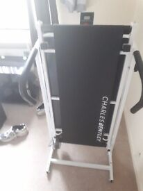 Charles Bentley Non-Motorised Treadmill, assembled, brand new, never used!