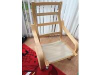 2 X IKEA Poang arm chair frames great condition