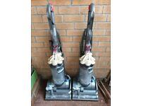 2 Dyson DC27 Vacuum Cleaners for Spares or Repairs