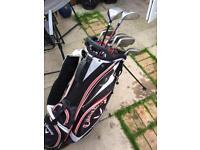 Full Set of Golf Clubs & Callaway Golf Bag