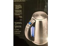 Cuisinart CPK17U MultiTemp Jug Kettle 1.7 L - Brushed Stainless Steel not kitchen aid or Smeg