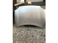 Silver MGTF bonnet