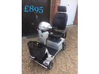 Quingo vitess 8 mph mobility scooter like new