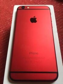 iPhone 6 custom red/black unlocked 16GB