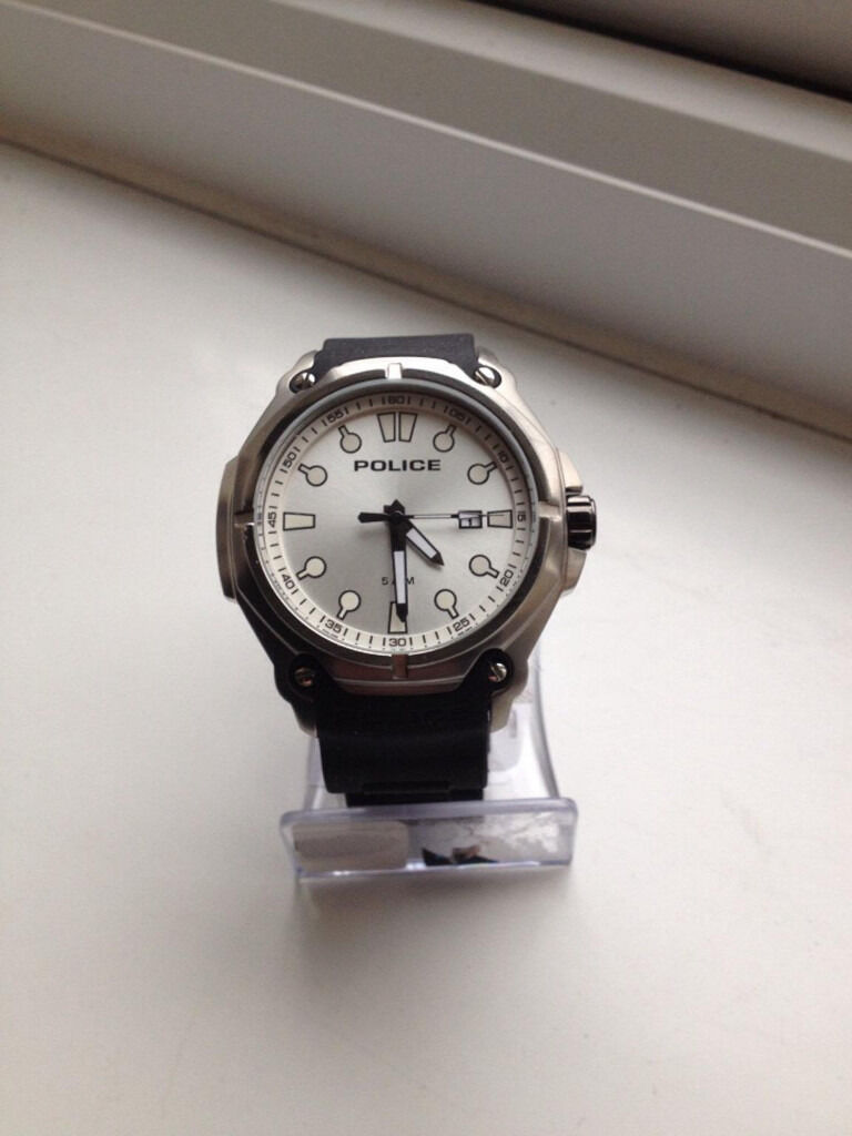 0971981bc17f STONKING POLICE WATCH STAINLESS STEEL RUBBER AND ALLOY STRAP ITS BRAND NEW  STILL GOT LABELS ON . Nottingham ...