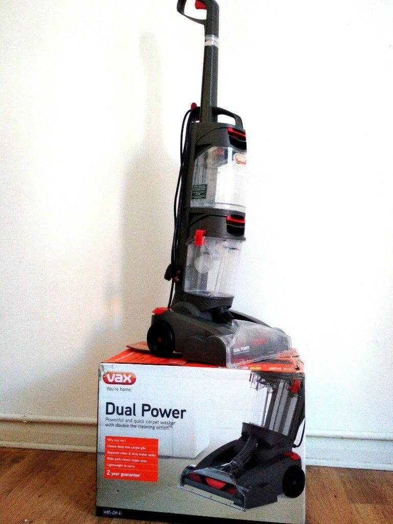 Superb Vax Dual Power Pro Carpet Cleaner 1 Month Old