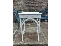 Table suitable for a hall or corner
