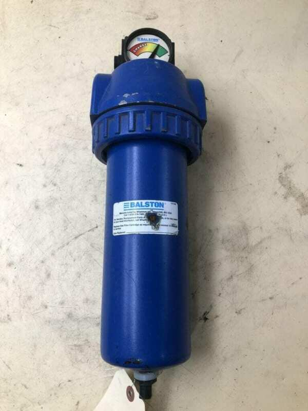Balston 1060S-DX Compressed Air Filter 250PSIG 130°F