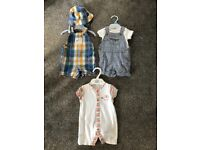 Baby boy clothes - 0-3 mths