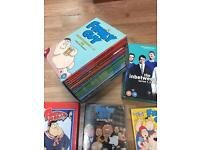 Family guy season 1-6 dvd or the inbetweeners 123