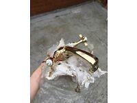 Original gold Rudge tap