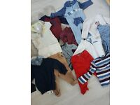 Baby boys 3 to 6 and 6 to 9 months clothes bundle