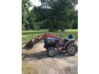 Ford 1200 Compact Tractor with loader