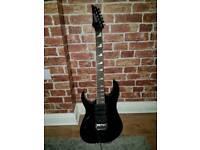Ibanez GRG170DXL-BKN Gio Left Handed Electric Guitar (Black Knight)