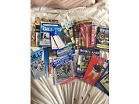 FREE - Football programmes - FREE bundle