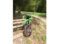 Kawasaki KX100 Big Wheel