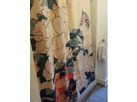 Designer shower curtain. Special ordered. Good condition