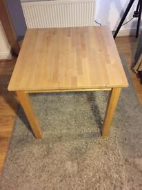 Solidwood ikea table