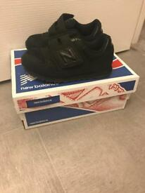 Toddler's new balance 373 Velcro Trainers in Black *BRAND NEW* size 7