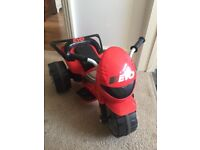 Children's electric quad bike ride on toy