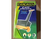 Evergreen Easy Spreader - for applying lawn products.