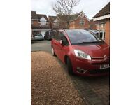 Citroen C4 grand Picasso Elegance in good condition all round in need of larger motor
