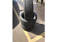 4 toyo proxy tyres 205/45/16