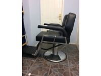Salon /barbers chair for sale unused , as new